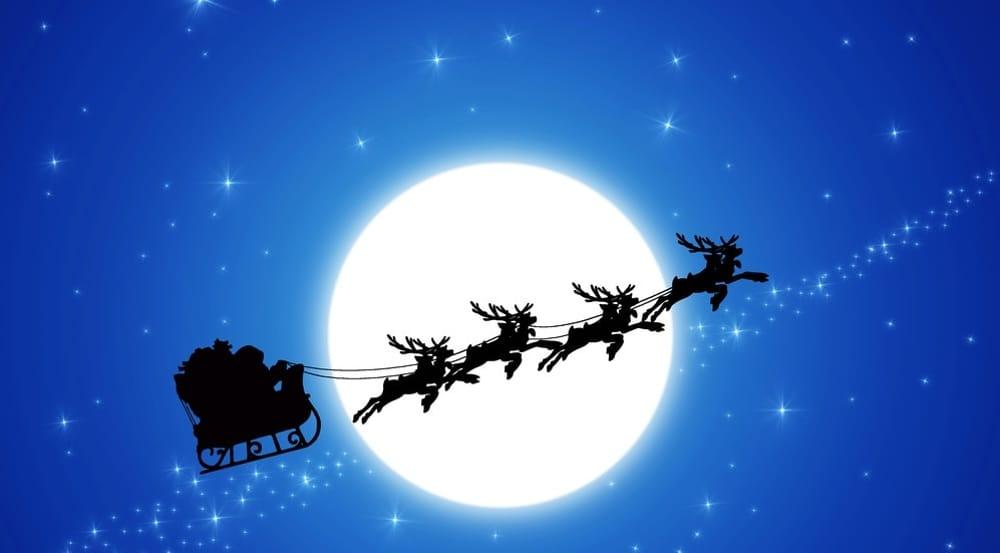 Foto Della Slitta Di Babbo Natale.La Slitta Volante Il Bosco Di Babbo Natale