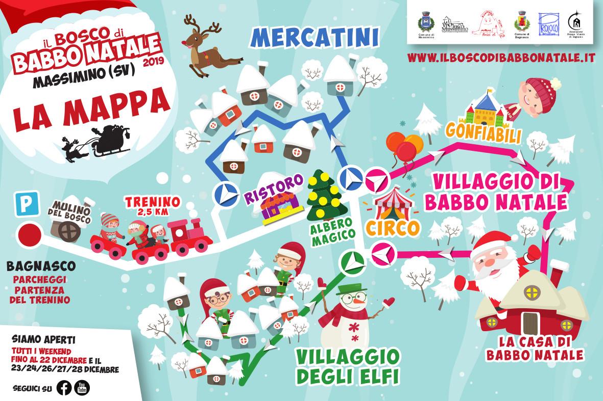 Babbo Natale Mappa.Programma Bosco Di Babbo Natale Il Bosco Di Babbo Natale